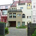 Bahnhofstraße 19, 20 Rückansicht