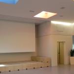 Kreativzentrum Cottbus Projektionswand Bewegungsraum