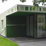 Kreativzentrum Cottbus Foyer Außenansicht