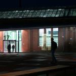 TH Wildau Halle 17 Vorplatz mit Haupteingang